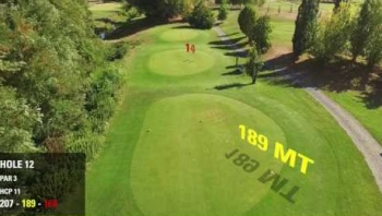 Embedded thumbnail for Drone al servizio del golfista